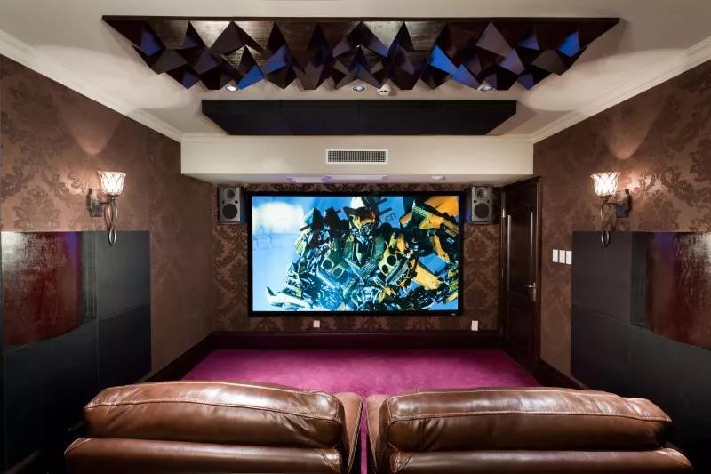 家庭影院,别墅私人影院,者尼,私人影院设计方案,者尼